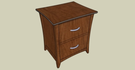 Pdf bedroom nightstand woodworking plans diy free plans for Simple nightstand designs
